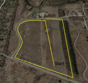 2018 BIG HEART 2k Run Course at LeRoy Oaks